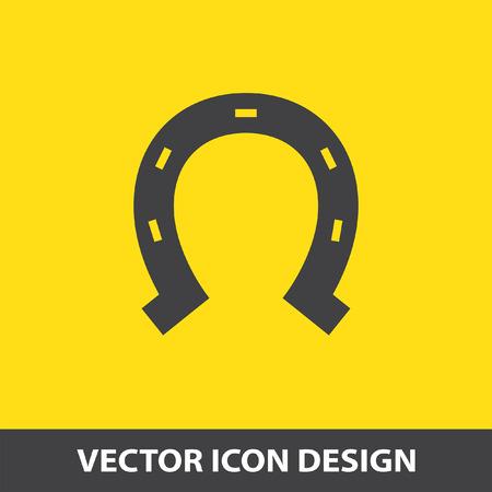 herradura: icono de vector de herradura