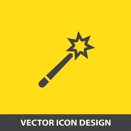 m�gica: vector icon varita m�gica