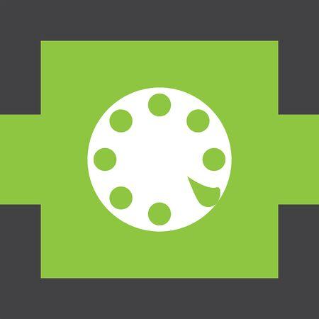rotative: Rotary Phone Dial