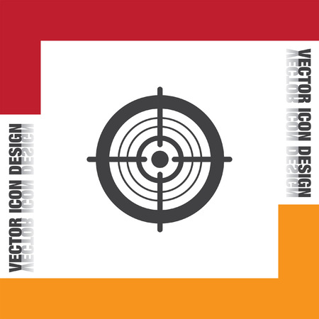 focus on background: target vector icon
