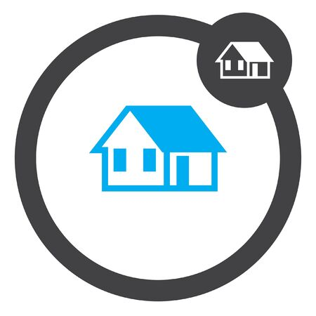 house vector icon Stock Illustratie