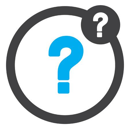 signo de pregunta: pregunta icono de signo vector Vectores