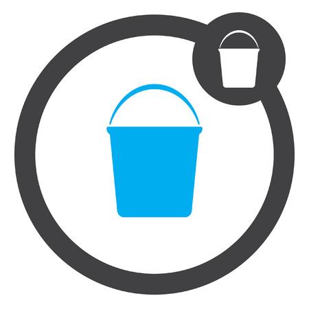 bucket: bucket vector icon