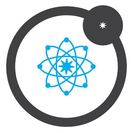 modelo: Atom �cone modelo vector