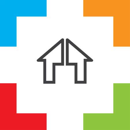 button icon: Home icon vector