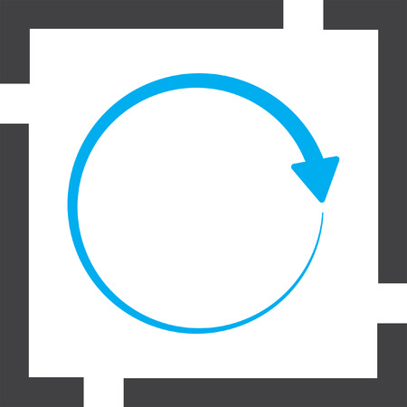 circular arrow: circular arrow vector icon