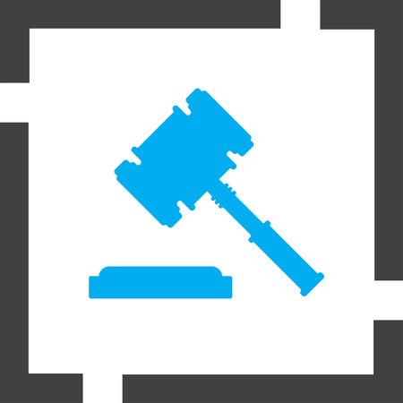 juge marteau: