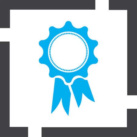 award ribbon vector icon