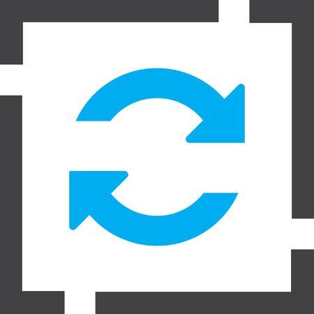 refrescar: refrescar vector icon Vectores