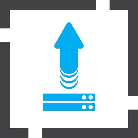 upload: upload vector icon