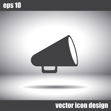 communicate  isolated: megaphone vector icon