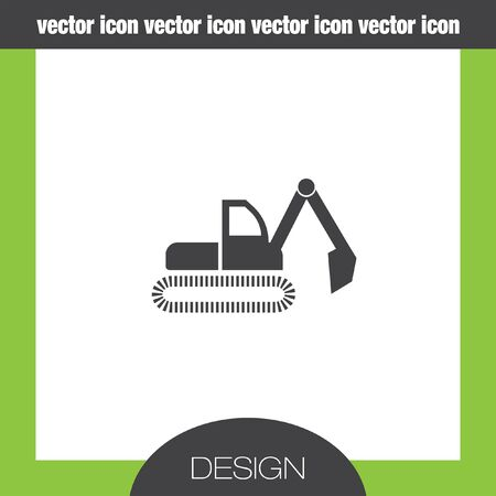 dredge: dredge symbol icon Illustration