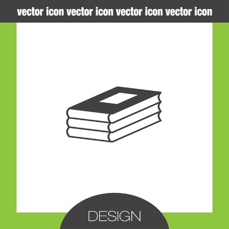 encyclopedias: three books icon