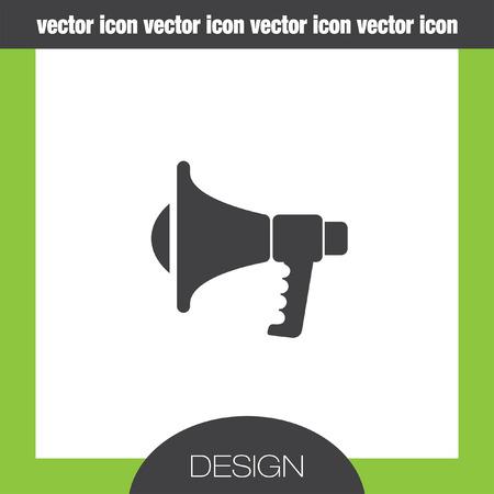 megaphone icon: megaphone icon