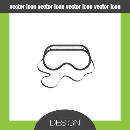 safety glasses: safety work glasses icon