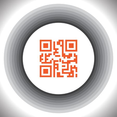 qr: qr code vector icon