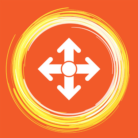 move: arrows move vector icon
