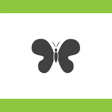 butterfly vector: butterfly vector icon
