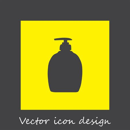 chemical cleaning: household detergent cleaning bottle icon