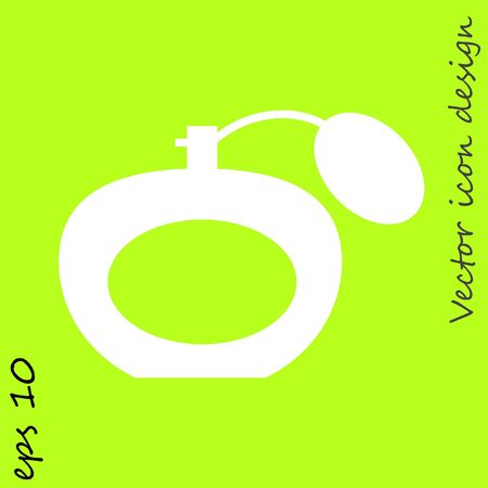 perfume vector icon Illustration