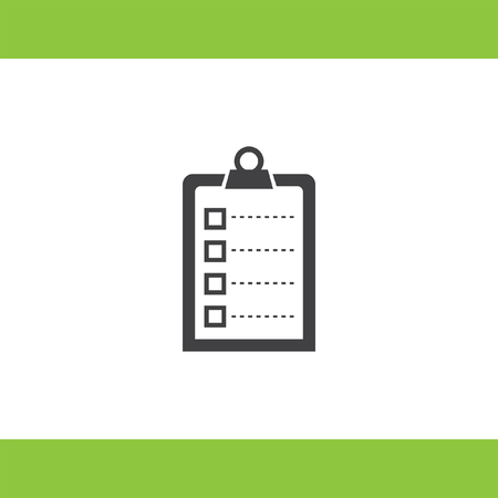 forms: check list vector icon
