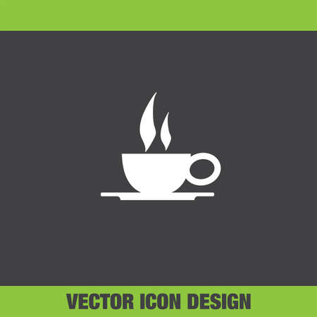 coffee: coffee cup vector icon Illustration