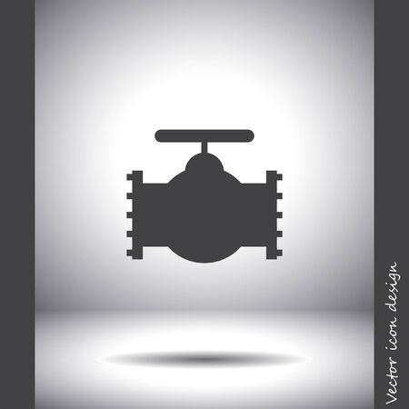valve: industry valve vector icon