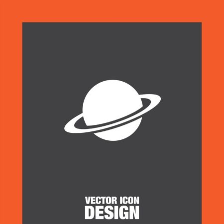 planet: planet vector icon