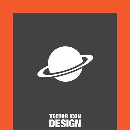 planeten: Planeten Vektor-Symbol