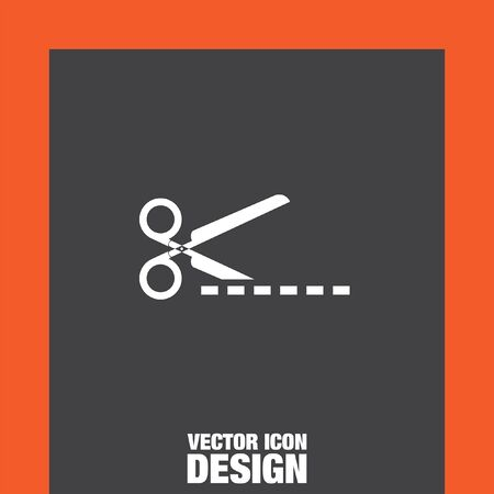 scissors cut: scissors cut vector icon