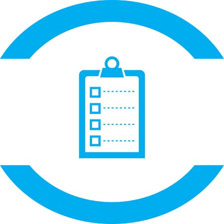 check icon: check list vector icon