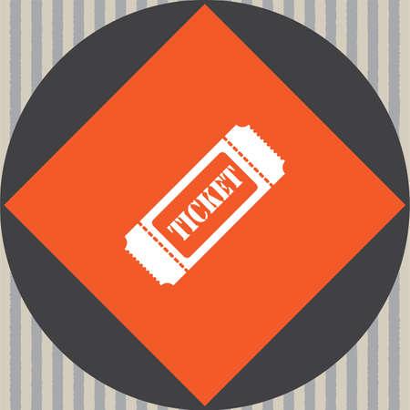 ticket vector: ticket vector icon