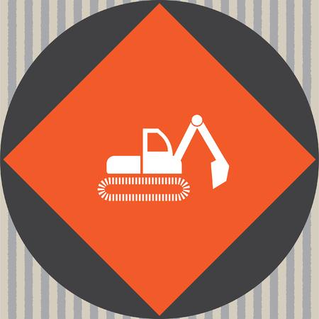 dredge: dredge symbol vector icon