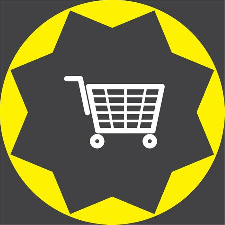 retail sales: shopping cart icon