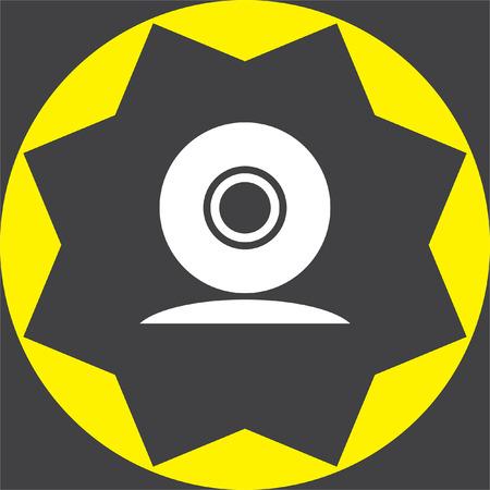 web cam: web cam vector icon