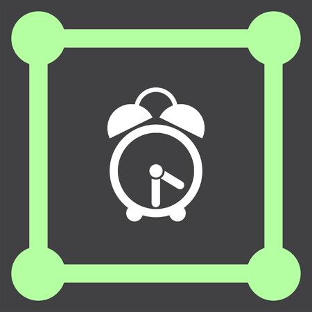 analog clock vector icon