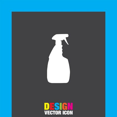 household cleaning: household cleaning bottle vector