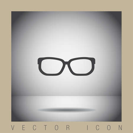 glasses icon: glasses vector icon