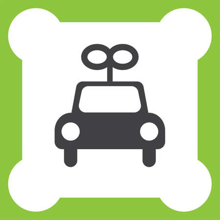 toy the car: toy car vector icon Illustration