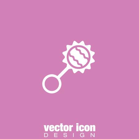 sonaja: baby rattle vector icon