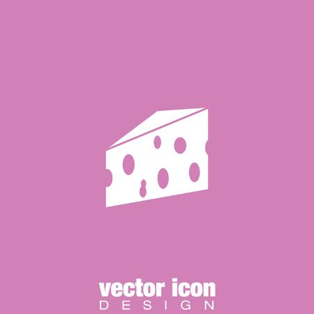 porous: cheese vector icon