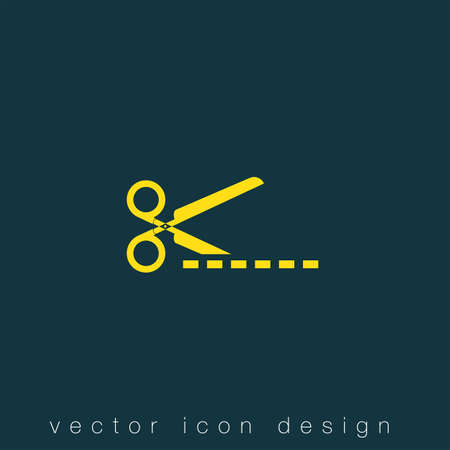 cut: scissors cut vector icon