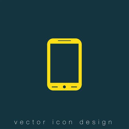 smart phone: smart phone vector icon Illustration