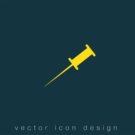 tacks: pushpin vector icon