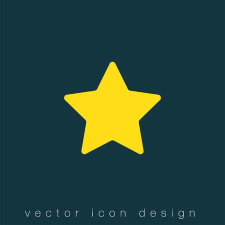 star icon: star vector icon