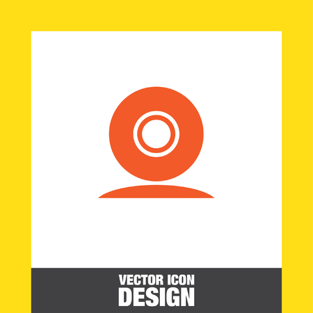 cam: web cam vector icon
