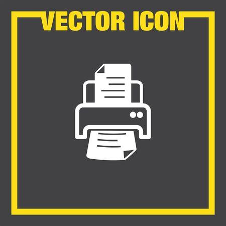 inkjet: printer vector icon
