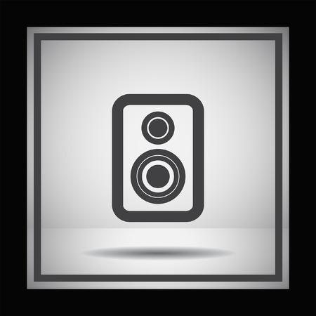 PARLANTE: icono de vector del altavoz