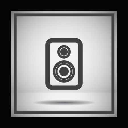 loud speaker: speaker vector icon Illustration