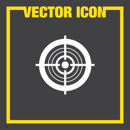 TARGET: target vector icon
